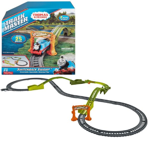 Thomas The Tank Engine & Friends Track Master Switchback Swamp Set Toy